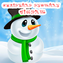 play CHRISTMAS SNOWMAN JIGSAW PUZZLE game