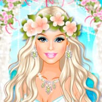 Dress your Barbie for a Wedding