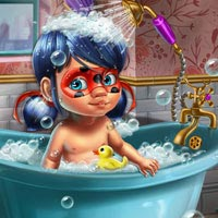 Ladybug Baby Shower Care