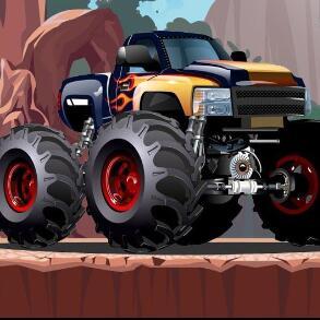 Crazy Monster Truck