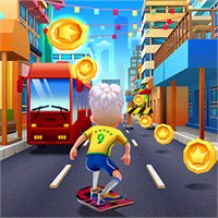 play Bus & Subway Runner game