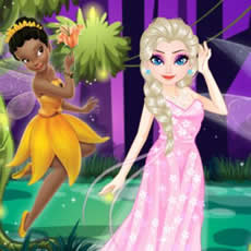 Elsa Elf Princess Party