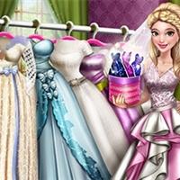 Dove Wedding Dolly Dress Up H